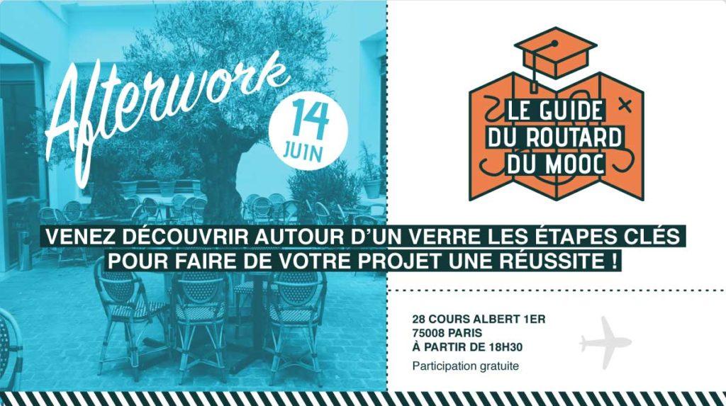 Afterwork : Le guide du routard du MOOC @ The Bureau